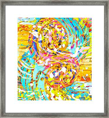 Sea Of Colors  Framed Print by Stacey Chiew