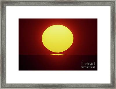 Sea Of Japan Framed Print