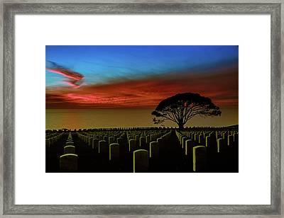 Sea Of Memories Framed Print