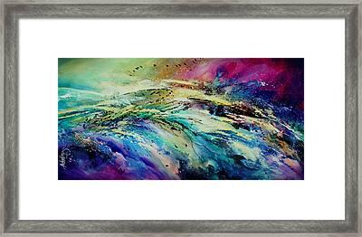 Sea Of Souls Framed Print by Michael Lang