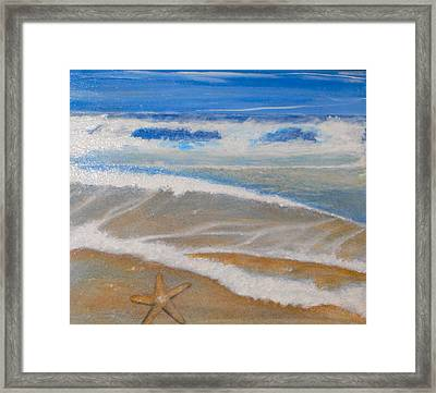 Sea Of Stars Framed Print by Jeffrey Engle