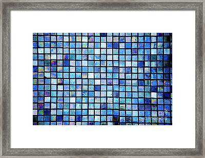 Sea Of Tiles Framed Print by Brandon Tabiolo - Printscapes