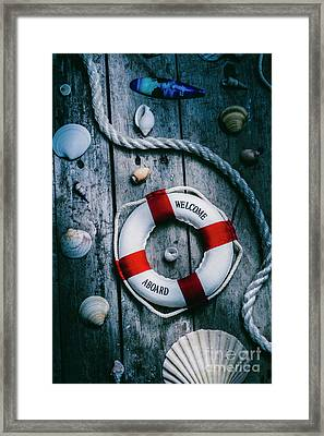 Sea Of Turbulence Framed Print