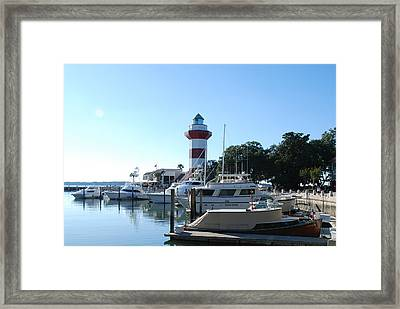 Sea Pines Hilton Head Framed Print by Kathy Gibbons