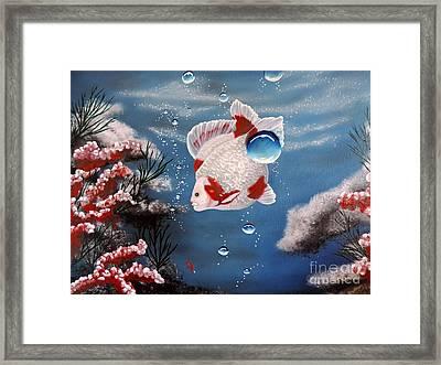 Sea Princess Framed Print by Dianna Lewis