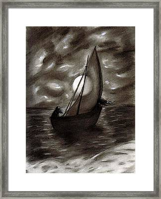 Sea Queen Of Connacht Framed Print by C Nick