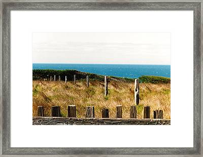Sea Ranch Framed Print