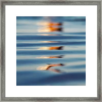 Sea Reflection 1 Framed Print