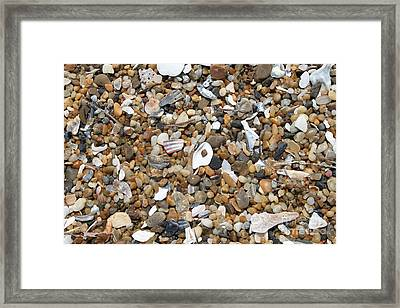 Sea Rocks Framed Print by Marcie Daniels