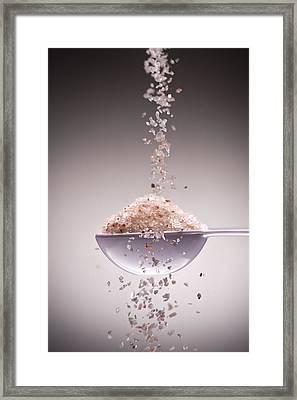 Sea Salt Framed Print