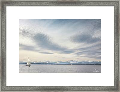 Sea Scene Framed Print