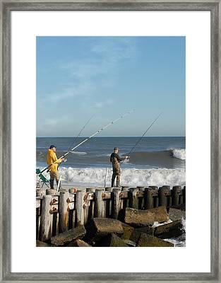 Sea Shore 49 Framed Print by Joyce StJames