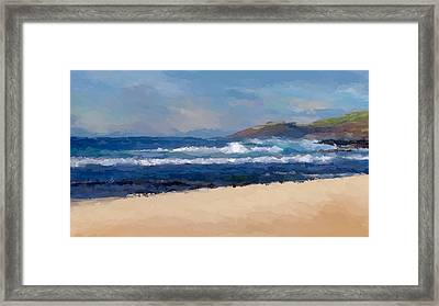 Sea Shore Framed Print