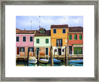 Sea Side Morning  Framed Print by Movie Poster Prints