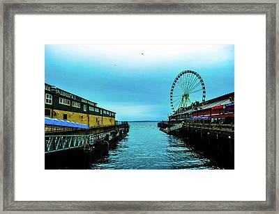 Sea Side, Seattle 2 Framed Print