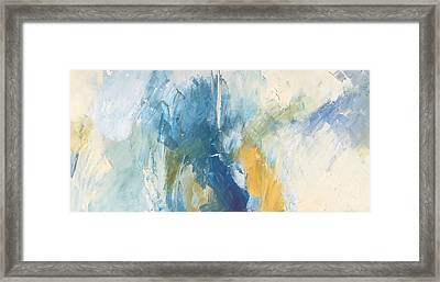 Sea Sky Sun Framed Print