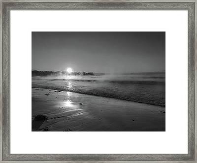 Sea Smoke Framed Print