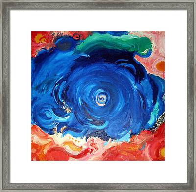 Sea Soul Framed Print