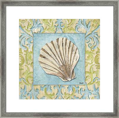 Sea Spa Bath 1 Framed Print by Debbie DeWitt