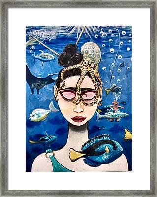 Sea Spirit  Framed Print by Matthew Gaunt