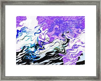 Sea Spirits Framed Print by Mathilde Vhargon