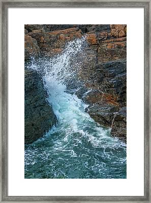 Sea Splash Framed Print by Svetlana Sewell
