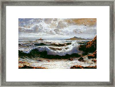 Sea Storm Framed Print