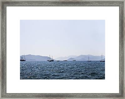 Sea Stroll Framed Print by Svetlana Sewell