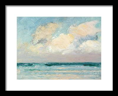 Cloudy Sky Framed Prints