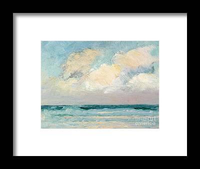 Deep Sea Framed Prints