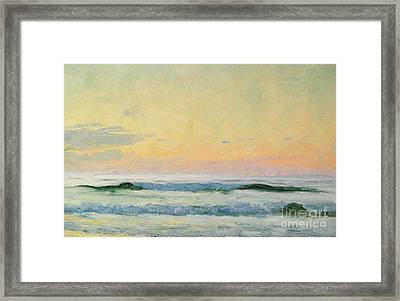 Sea Study Framed Print