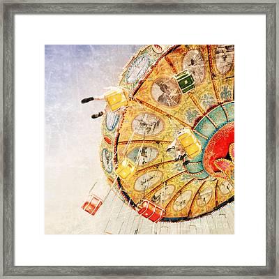 Sea Swings Framed Print