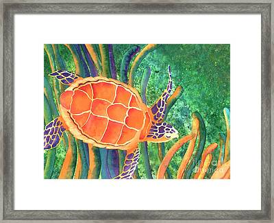 Sea The Beauty Framed Print by Tracy L Teeter