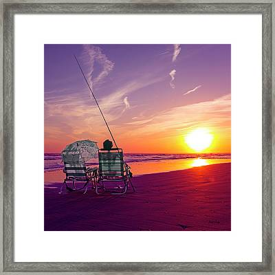 Sea Through Framed Print