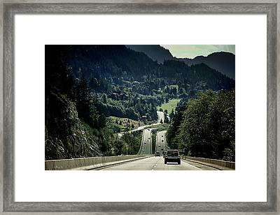 Sea To Sky Highway Framed Print