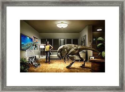 Sea Turtle Art Framed Print by Marvin Blaine