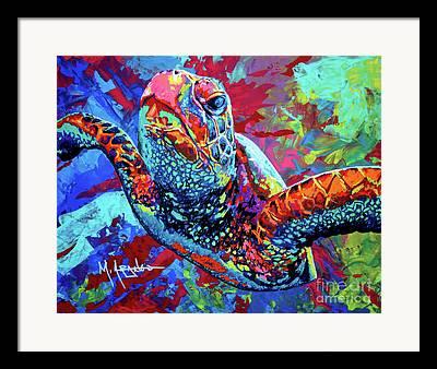 Marine Art Framed Prints