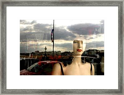 Sea View Framed Print by Jez C Self
