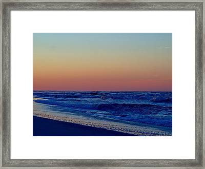 Framed Print featuring the photograph Sea View by  Newwwman