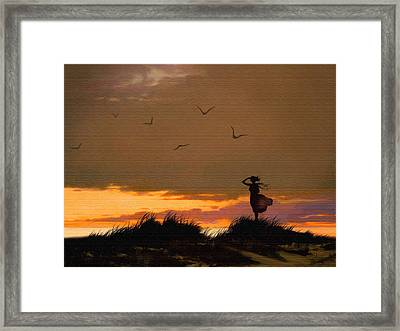 Sea View Framed Print by Robert Foster