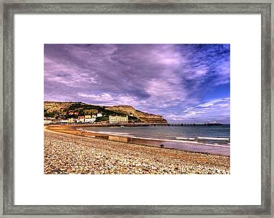 Sea View Town Framed Print by Svetlana Sewell