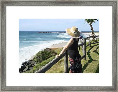 Sea Watch Framed Print by Dennis Cox WorldViews