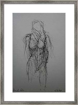 Sea Wiind Framed Print by Dean Corbin