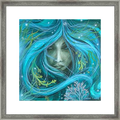 Sea Witch Framed Print by Amanda Clark