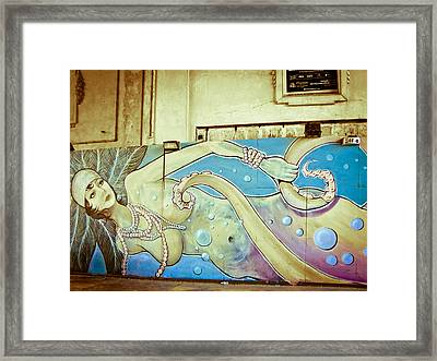 Sea Witch - Mermaid Framed Print by Colleen Kammerer