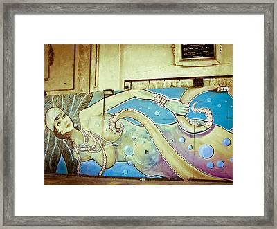 Sea Witch - Mermaid Framed Print
