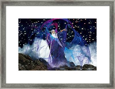 Sea Wizard Framed Print