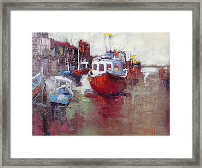 Sea Worthy Framed Print