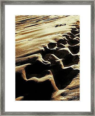 Framed Print featuring the photograph Sea3 by Cazyk Photography