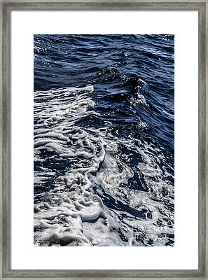 Framed Print featuring the photograph Sea6 by Cazyk Photography